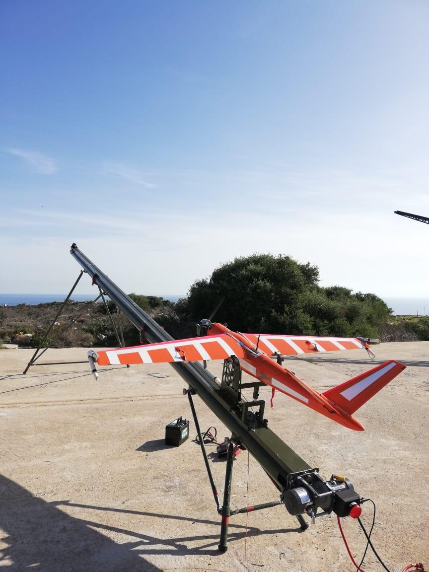 ALTUS LSA Aerial Target Drone ALBA NAMFI Firings